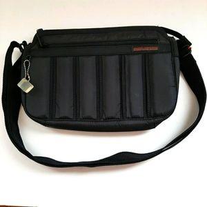 Hedgren Quilted Black  Crossbody Bag